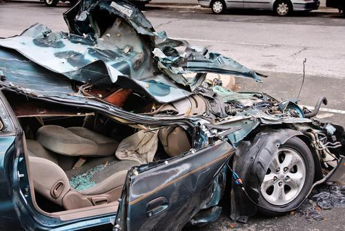Total Loss Collisions in Illinois - Lake County IL Car Accident