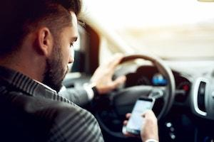 traffic accidents, distracted driving, Lake County car accident attorneys, Illinois car accident, rear-end collision