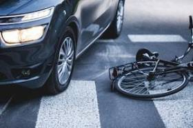 Chicago Bicyclist Injured in Motor Vehicle Collision